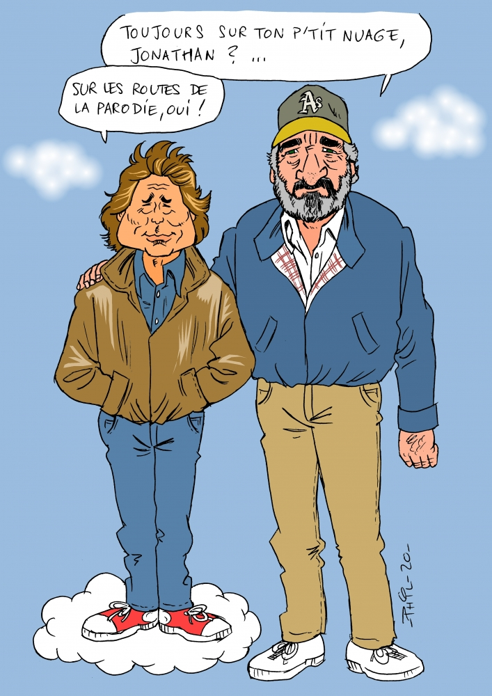 Victor French, Michael Landon by MaxSand70